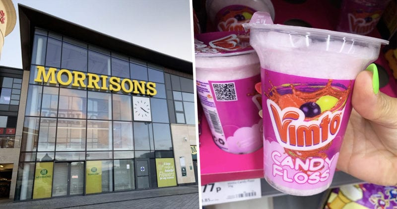 Vimto candy floss spotted on shelves in Morrisons, The Manc