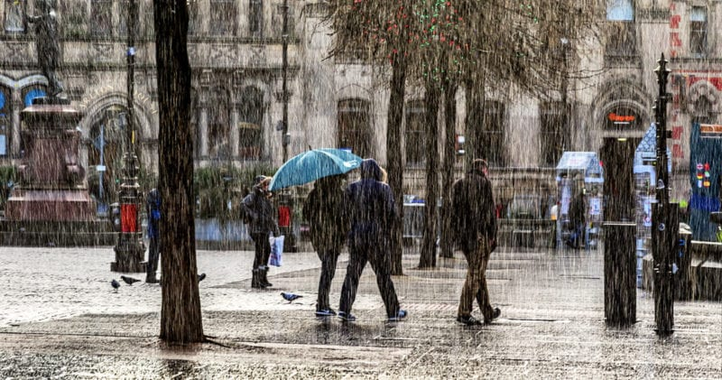 Heavy rain predicted to wash out what has been dubbed 'Super Saturday', The Manc