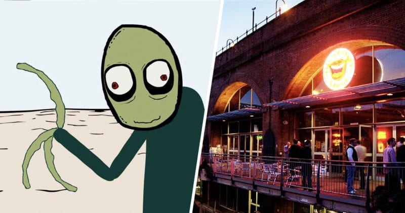 David Firth is bringing Salad Fingers to Manchester for a live show, The Manc