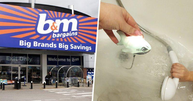 Glowing shark bath plug for £2.99 found in B&M, The Manc