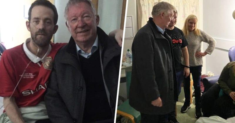 Terminally ill lifelong Manchester United receives surprise visit from Sir Alex Ferguson, The Manc