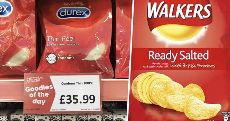 People are mistaking condom megapacks for bags of crisps, The Manc