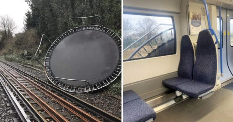 How to stop your trampoline from flying away during Storm Dennis, The Manc