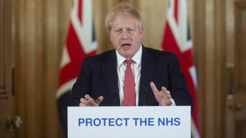 Boris Johnson places restrictions on when people can leave home, The Manc