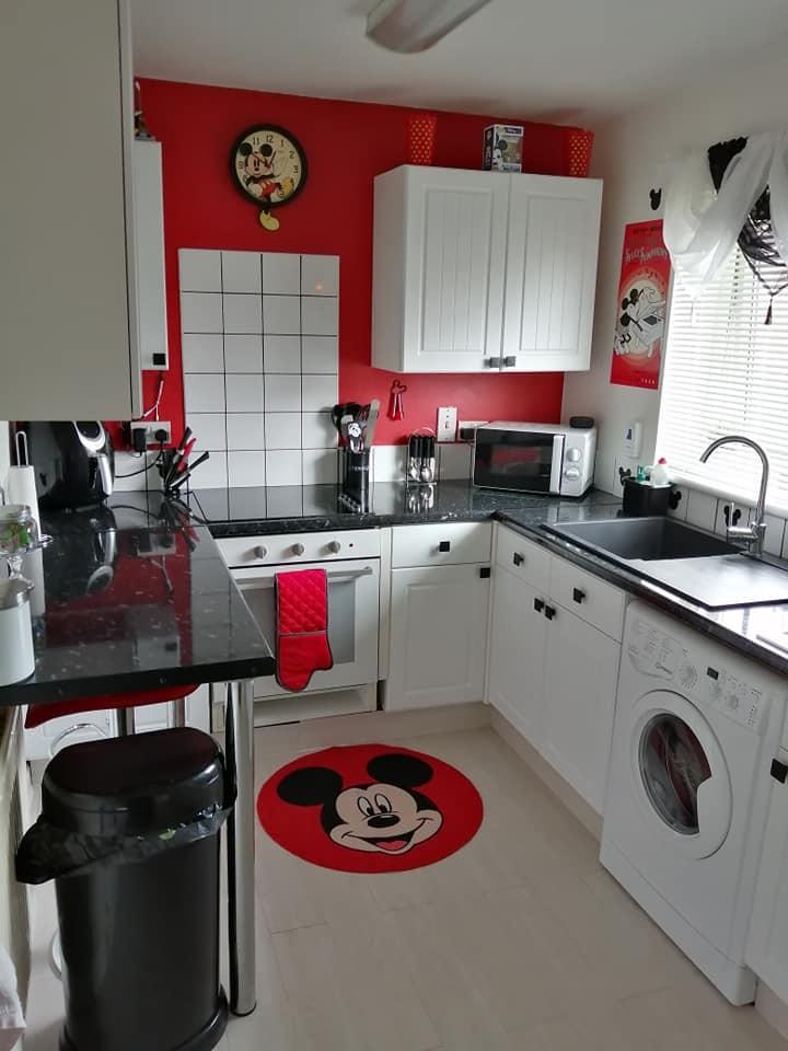 Mum completely transforms kitchen using Disney stuff from Primark, The Manc