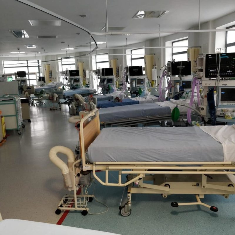 Salford Royal colleagues reassure public with picture of 'new' ICU ward, The Manc