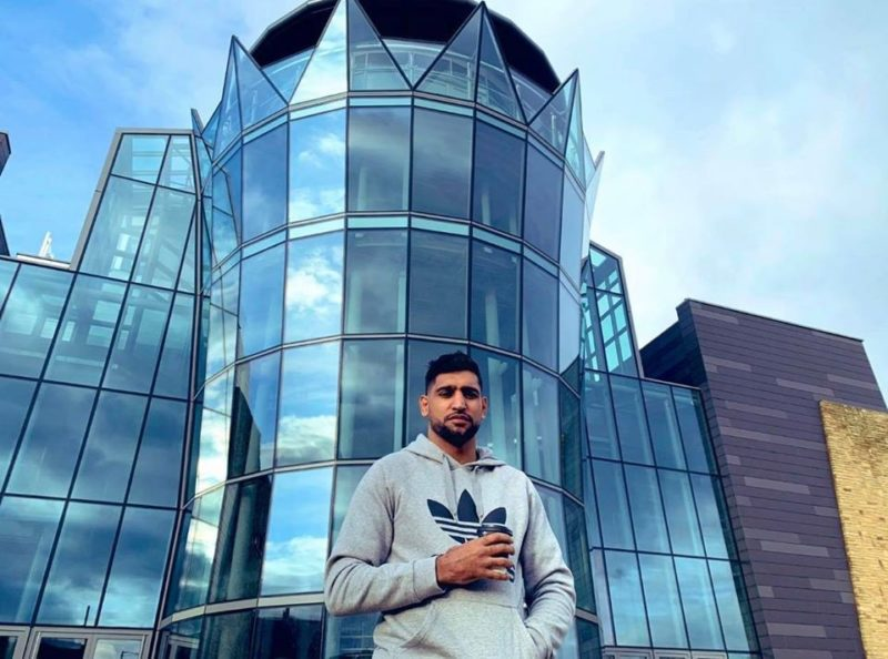Amir Khan has offered his Bolton wedding venue to the NHS, The Manc