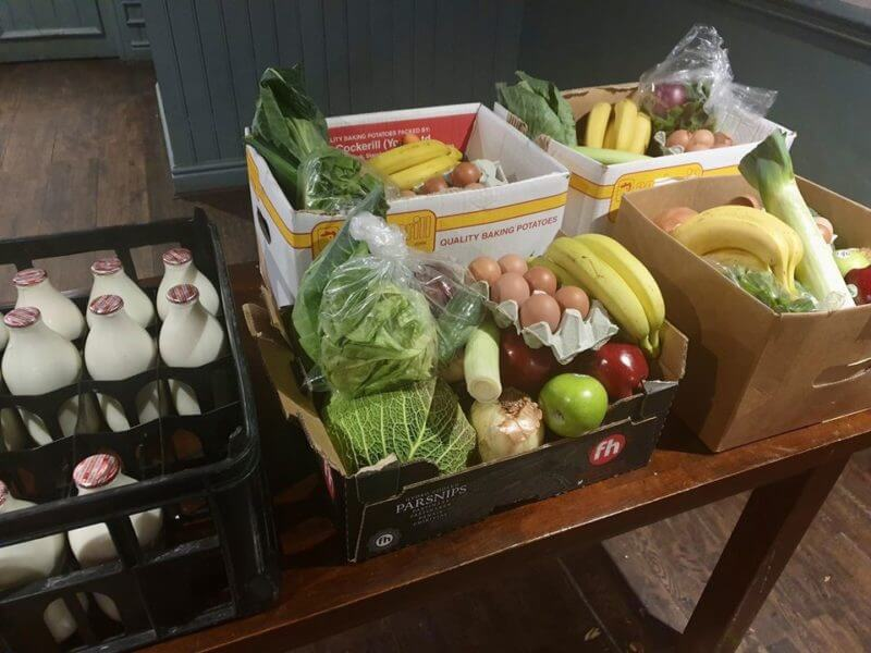 Pub in Bolton is producing hampers for vulnerable people in the community, The Manc