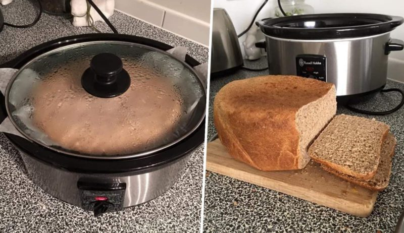 Woman shares genius method of making bread in a slow cooker, The Manc