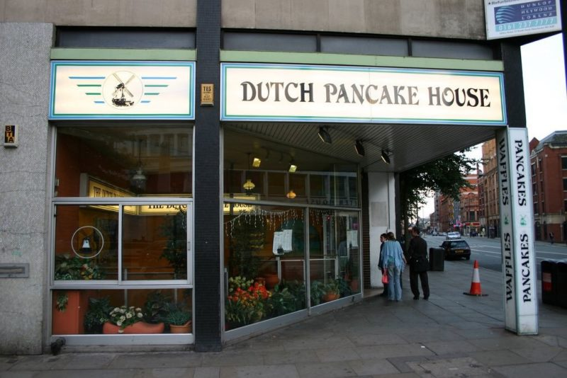 Who remembers Manchester's famous Dutch Pancake House?, The Manc