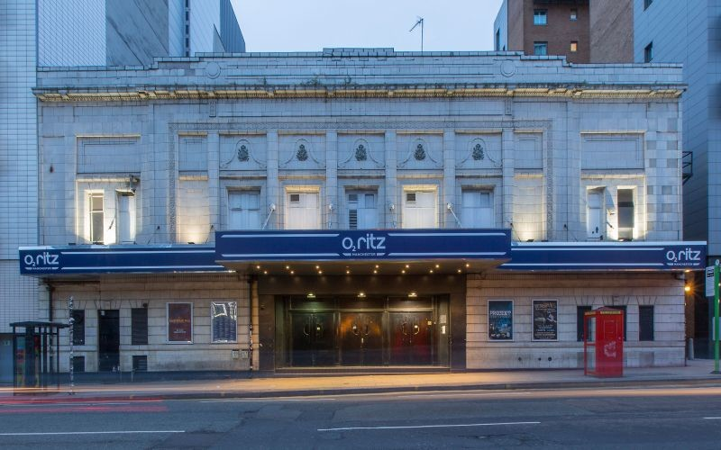 Manchester's O2 Ritz postpones all shows and events until March 31st, The Manc