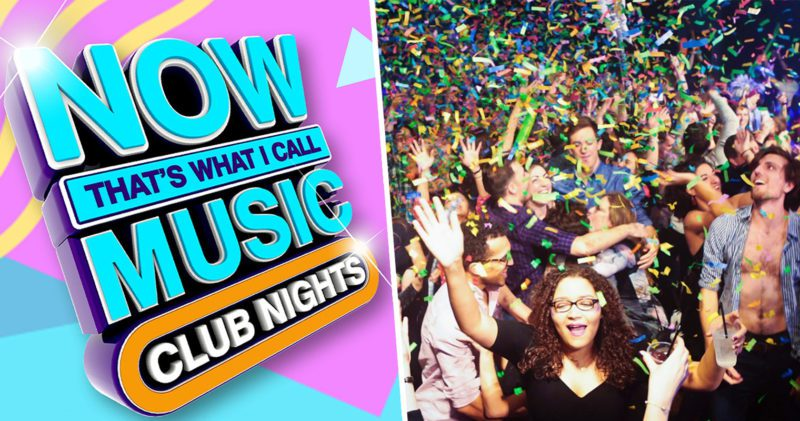 The 'Now That's What I Call Music' club night is happening this month, The Manc