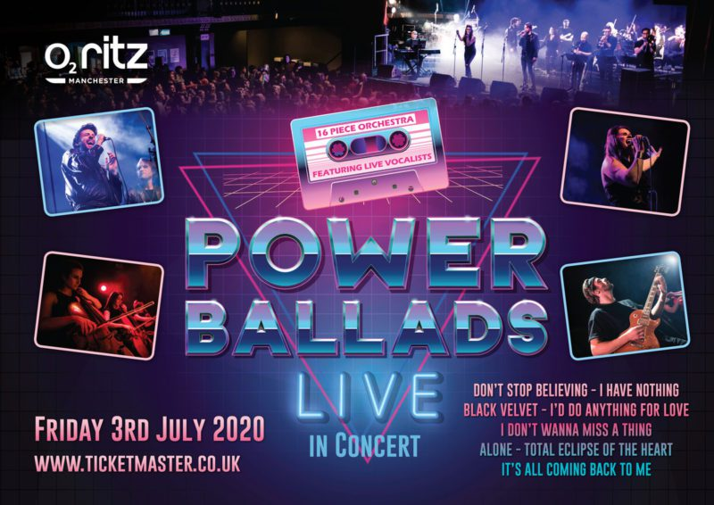 A full night of live Power Ballads is coming to Manchester, The Manc