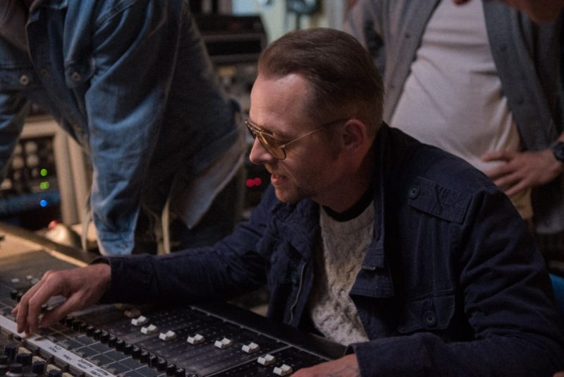 Simon Pegg is coming to Manchester Film Festival on Sunday, The Manc