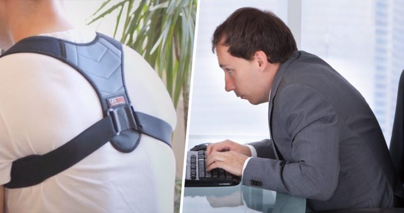 People with bad backs can now buy a 'posture corrector', The Manc
