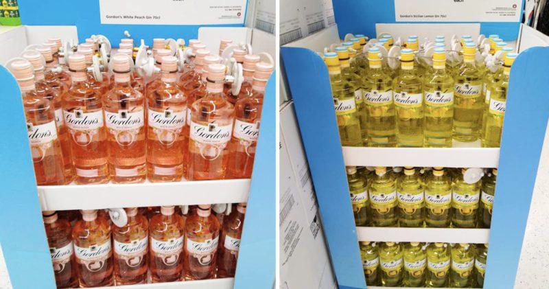 Asda is selling Gordon's new Sicilian lemon and peach flavoured gin, The Manc
