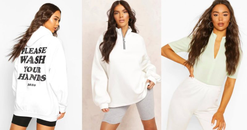 boohoo has launched a 'work from home' range, The Manc