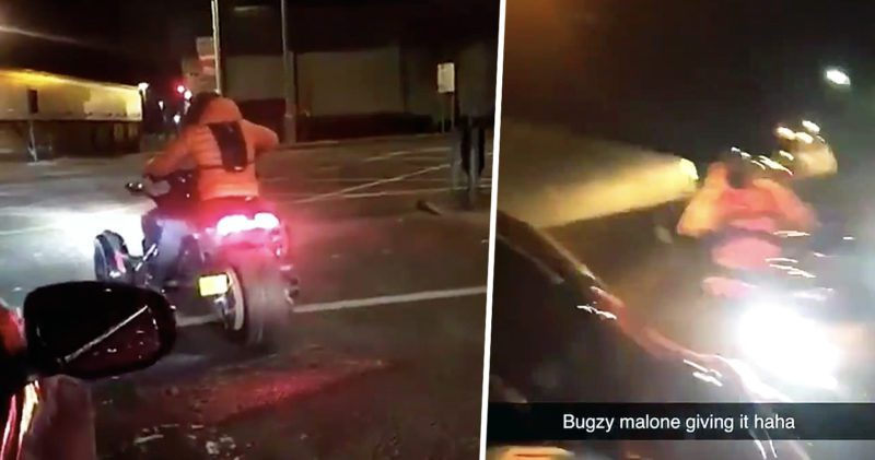 Manchester rapper Bugzy Malone involved in horror motorbike crash, The Manc