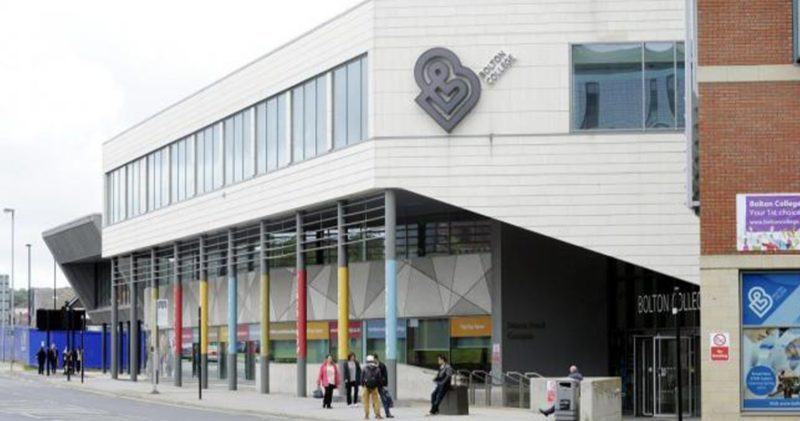 Bolton College has been evacuated following a 'bomb threat', The Manc