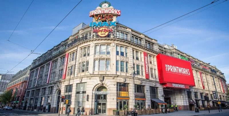 The Printworks in Manchester is now closed until further notice, The Manc