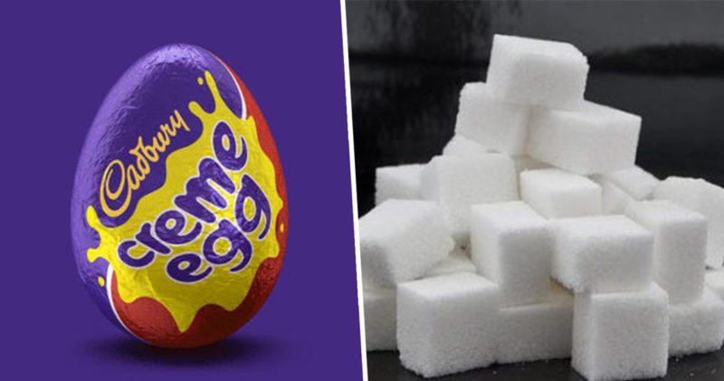 People are losing their heads over how much sugar is in a Creme Egg, The Manc