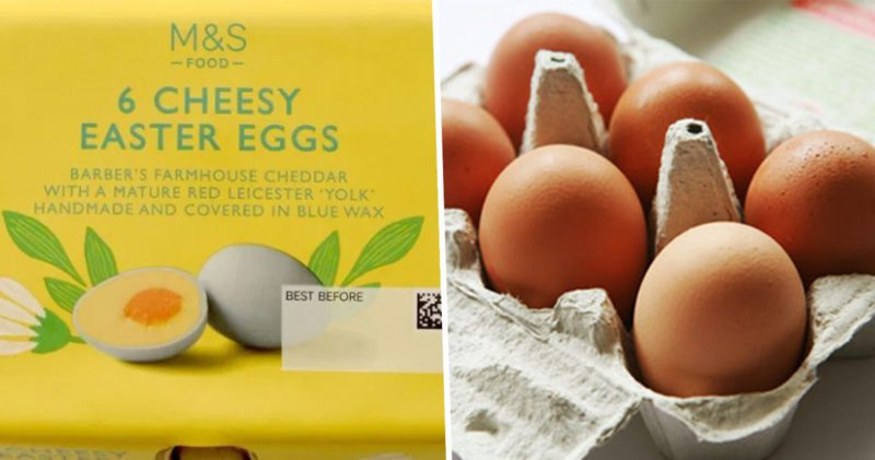 M&S is now selling eggs entirely made of cheese, The Manc