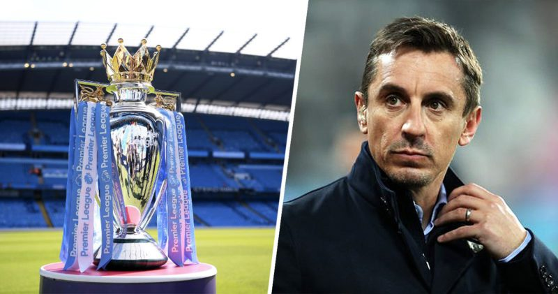 Gary Neville suggests 'nine-day festival of football' to complete Premier League season, The Manc