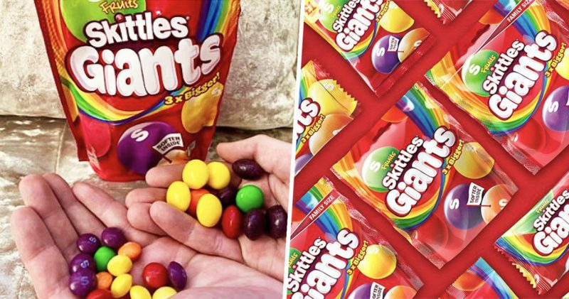 Skittles Giants are about to land on UK supermarket shelves, The Manc