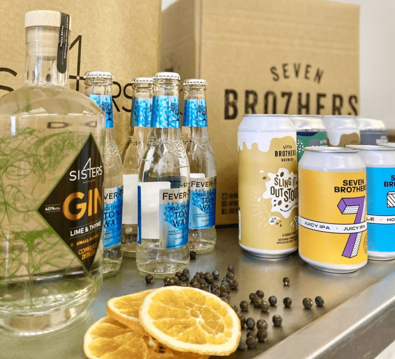 A gin and beer drive-thru now exists in Salford, The Manc