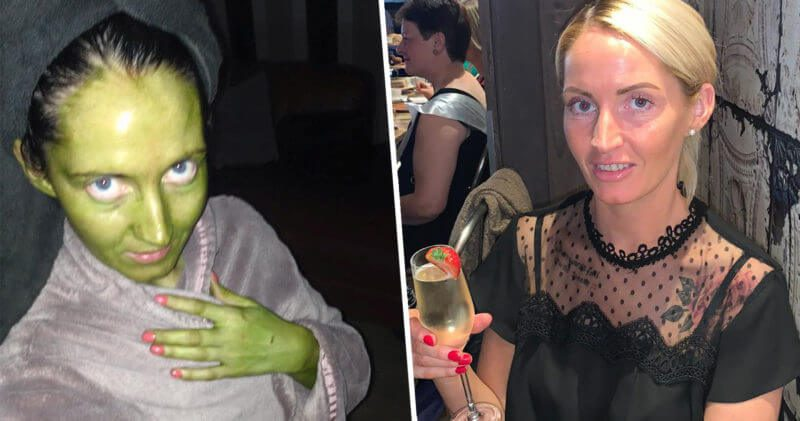 Mancunian Mum's fake tan disaster leaves her skin green, The Manc
