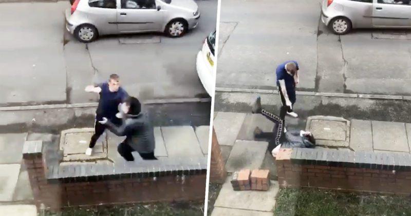 Man runs into painful karma after crashing stolen car in Droylsden, The Manc