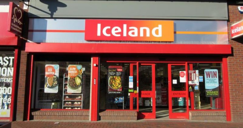 Rochdale Iceland goes viral over alleged coronavirus window sign, The Manc