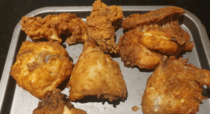 Manc goes viral after becoming 'the only man in Britain currently eating KFC', The Manc