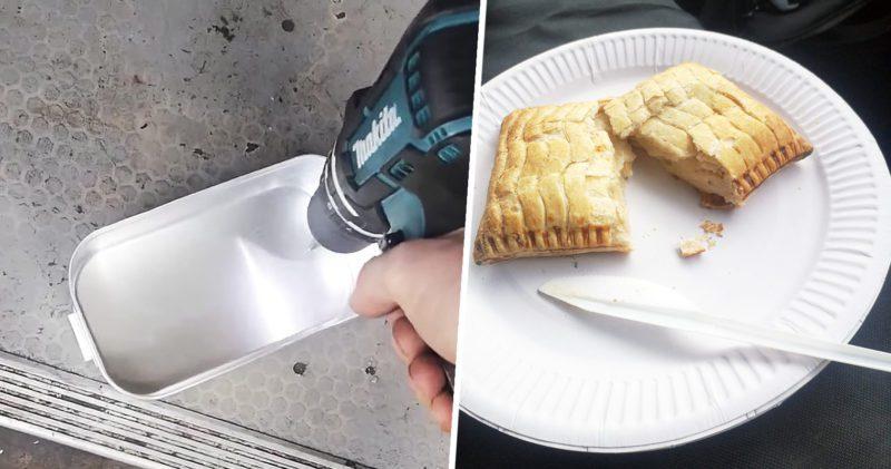 Man invents genius method of keeping Greggs pasties warm, The Manc