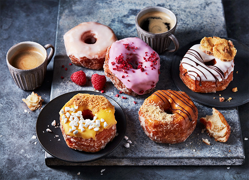 You can now buy a 'Yumnut' and it's a cross between a yum yum and a doughnut, The Manc