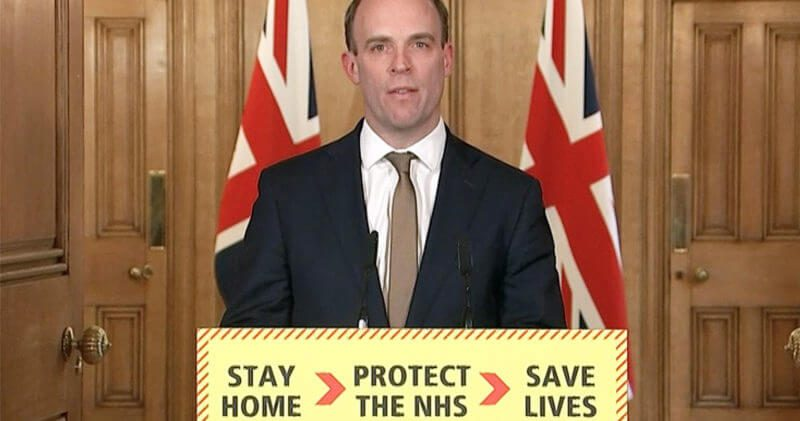 Dominic Raab confirms arrangement to rescue stranded Brits abroad, The Manc