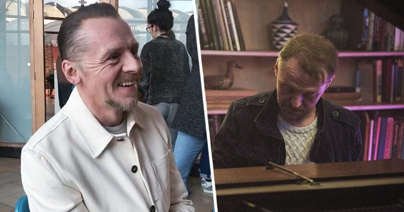 We spoke to Simon Pegg at the Manchester International Film Festival, The Manc