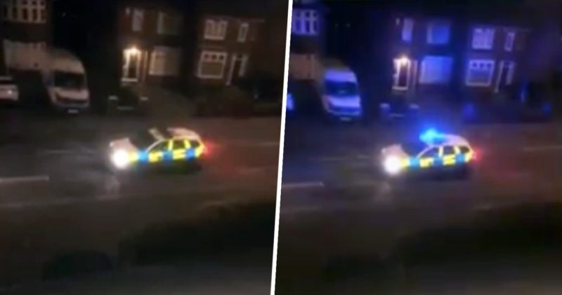 Derby police officer uses megaphone to order people to stay in their homes, The Manc