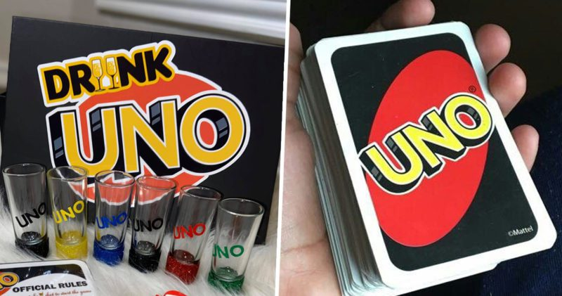 You can now buy a boozy version of Uno, The Manc