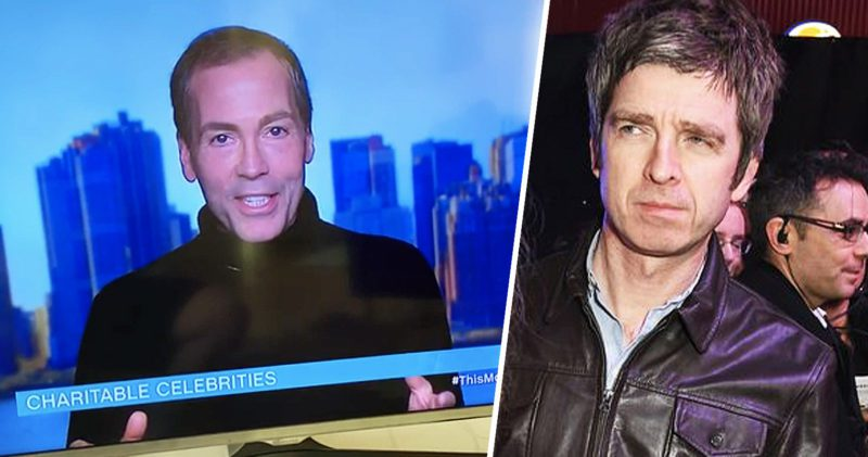 An American man just called Noel Gallagher 'Neil' twice on live telly, The Manc