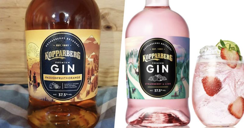 Kopparberg 'Passionfuit & Orange Gin' has been spotted in UK supermarket, The Manc