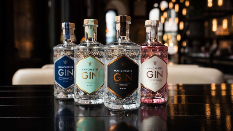 Manchester Gin has launched a Stay Home Gin Tasting Experience, The Manc