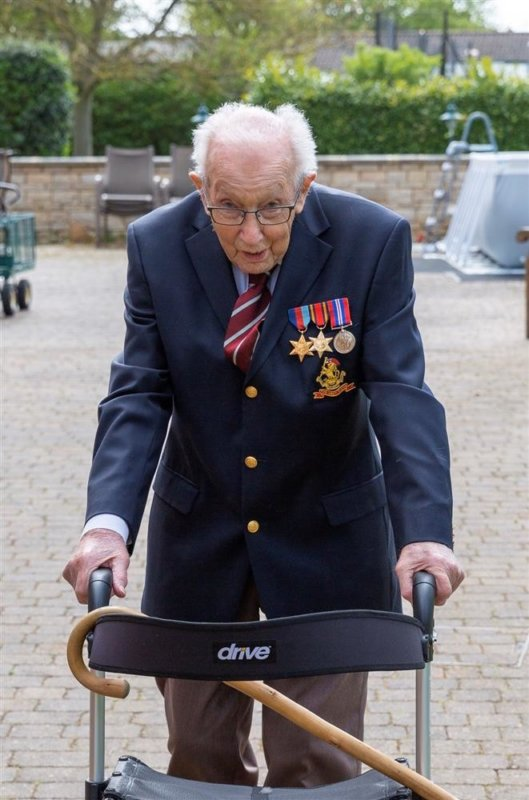 Captain Tom Moore's NHS fundraiser passes £17.5m, The Manc