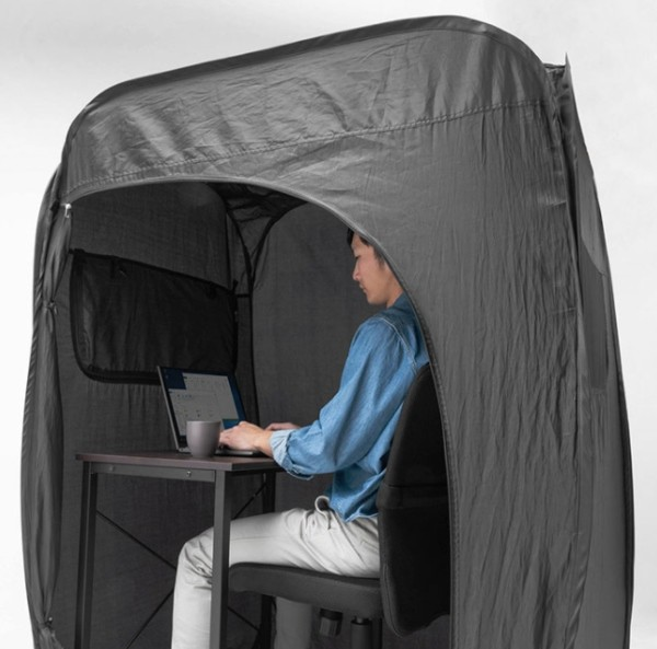 You can now get an office-tent so you can work from home in comfort, The Manc