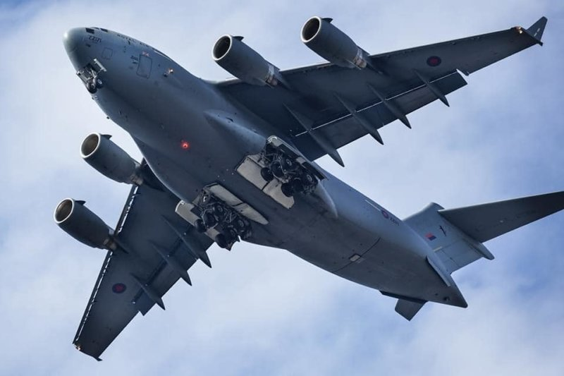 This is why a huge military aircraft flew over Manchester yesterday, The Manc