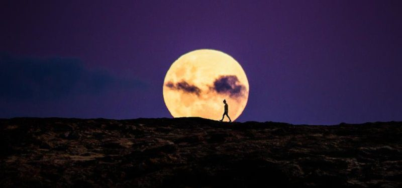 A 'pink supermoon' will light up the skies of the UK tonight, The Manc