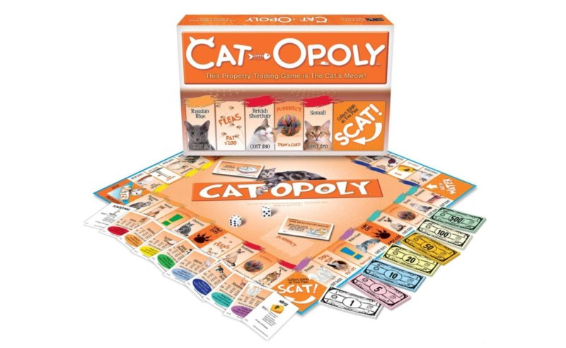 You can now buy a cat themed version of Monopoly, The Manc