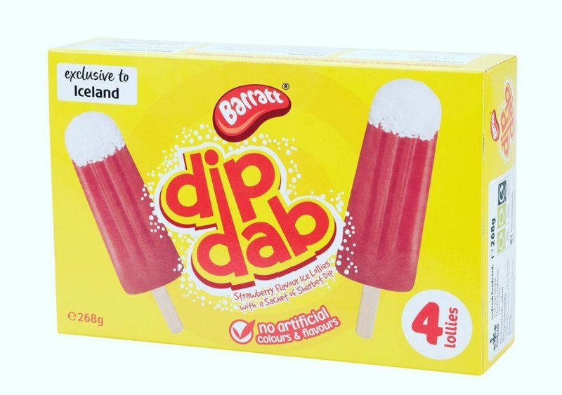Iceland Dip Dab ice lollies land a guy in huge trouble with his parents, The Manc