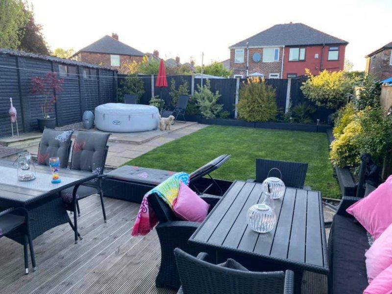 Nurse left devastated as 'jealous neighbours' steal her garden furniture, The Manc