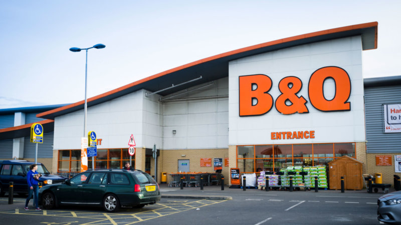 Some B&Q stores have now reopened in Greater Manchester, The Manc